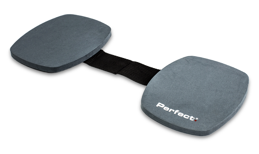 Pair of Perfect Knee Pads on white background