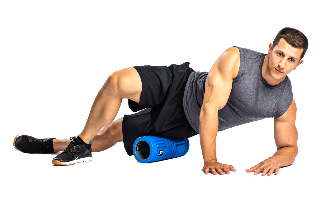 Details about  /Perfect Roller Pro 13/' Deep Tissue Roller Blue Fitness** fast ship